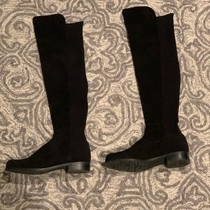 Stuart Weitzman Suede 5050 Over the Knee Boots